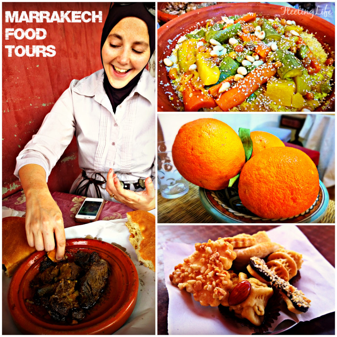 Marrakech food tours collage2