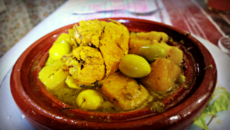 lemon chicken tagine